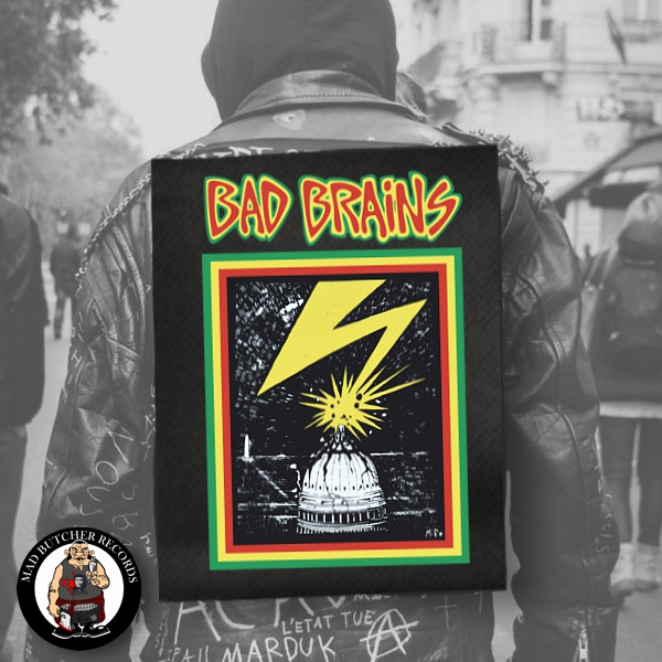 BAD BRAINS CAPITOL BACK PATCH