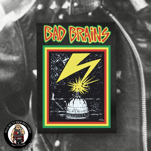 BAD BRAINS CAPITOL PATCH