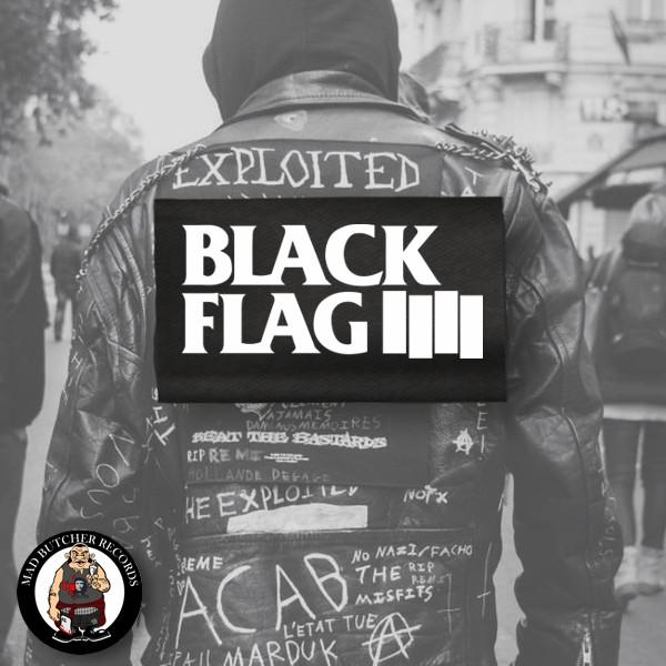 BLACK FLAG LOGO RÜCKENAUFNÄHER