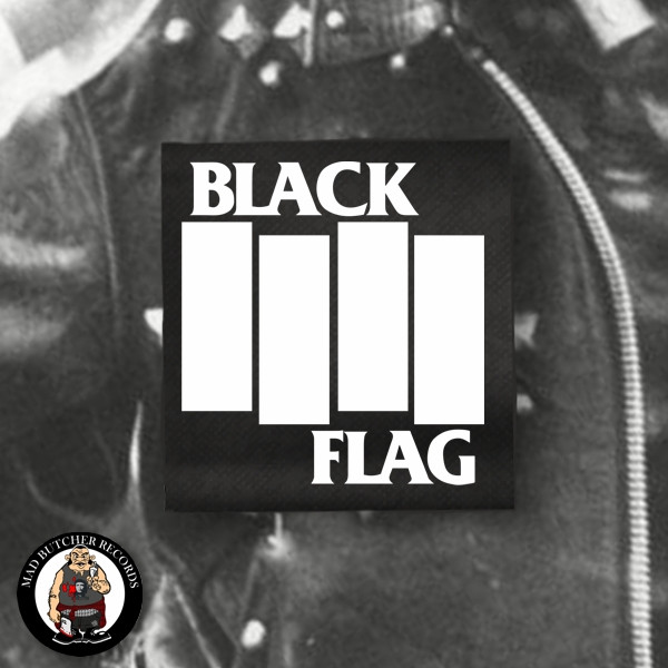 BLACK FLAG LOGO BIG PATCH