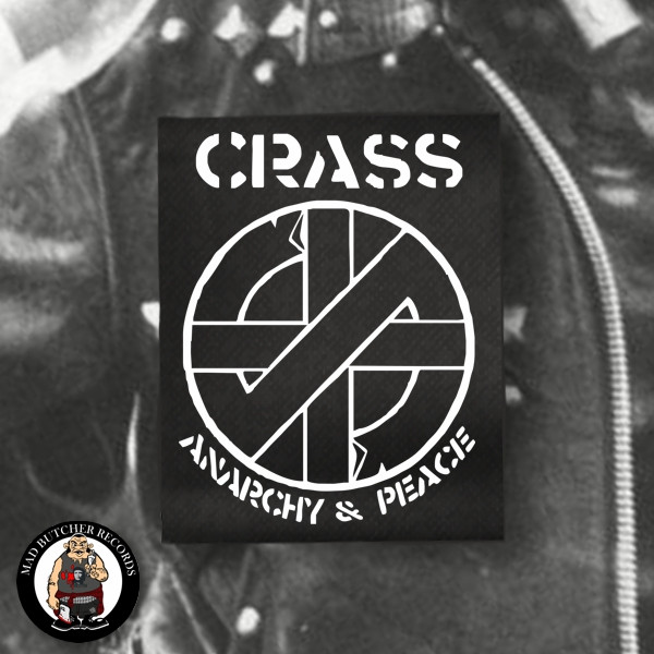 CRASS ANARCHY & PEACE PATCH