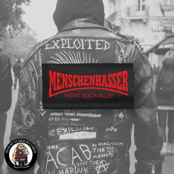 MENSCHENHASSER BACK PATCH