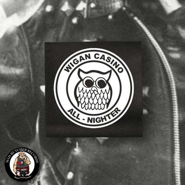 WIGAN CASINO NIGHT OWL PATCH