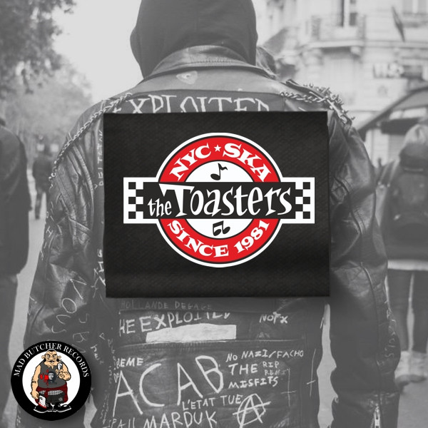 THE TOASTERS UNDERGROUND BACKPATCH