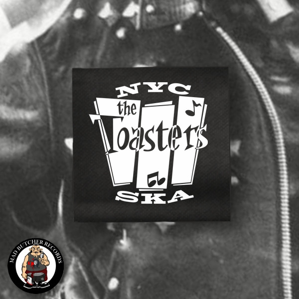 THE TOASTERS NYC SKA PATCH