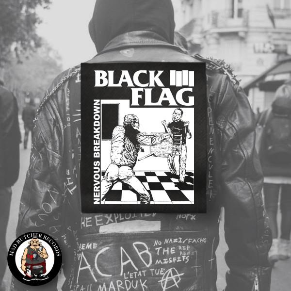 BLACK FLAG NERVOUS BREAKDOWN RÜCKENAUFNÄHER
