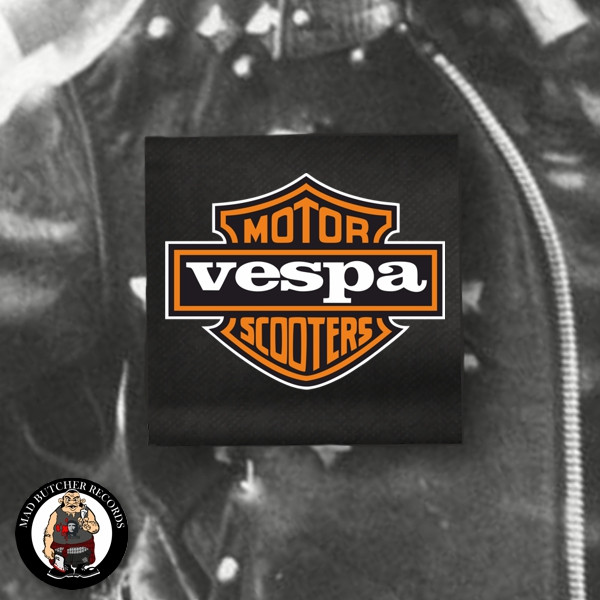 VESPA MOTOR SCOOTERS PATCH
