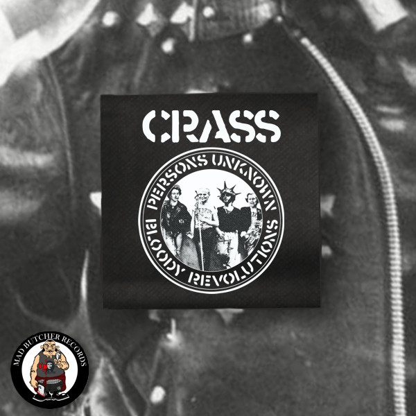 CRASS PERSONS UNKNOWN PATCH