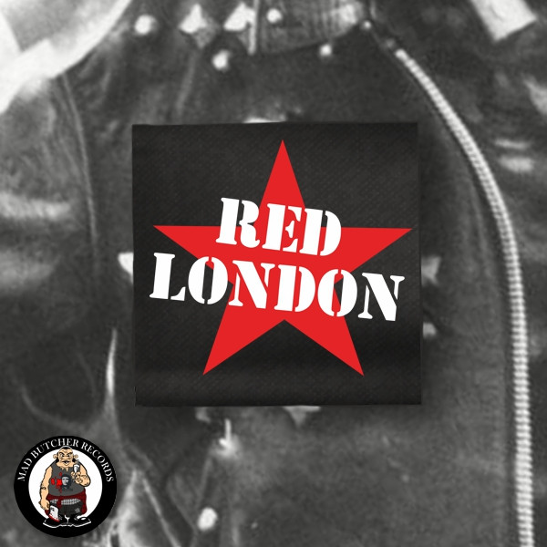 RED LONDON PATCH