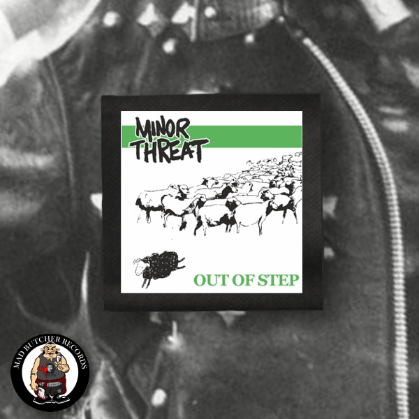 MINOR THREAT OUT OF STEP PATCH