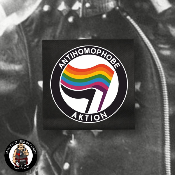 ANTIHOMOPHOBE AKTION PATCH
