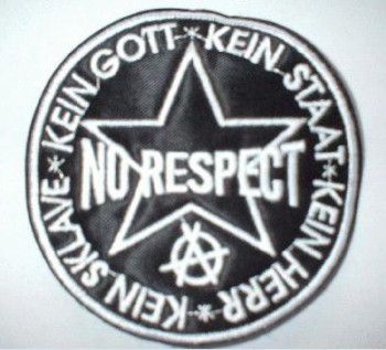 NO RESPECT PATCH
