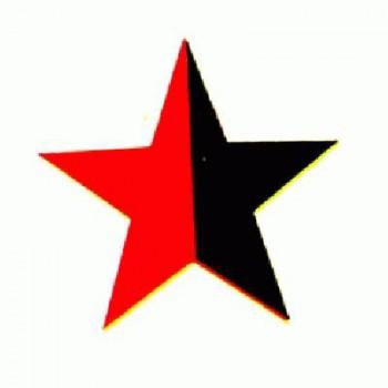 Antifa - red/black Star