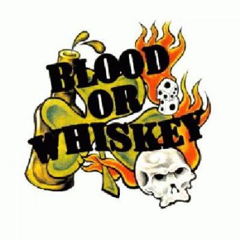 BLOOD OR WHISKEY - Logo