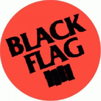 BLACK FLAG - Red one