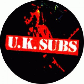 UK SUBS - Shadow red