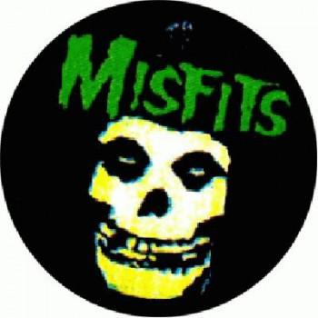 MISFITS - Green Skull