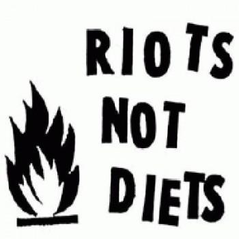 Antifa - Riot not Diets