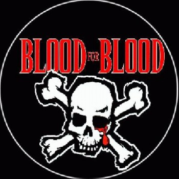 BLOOD FOR BLOOD - Skull