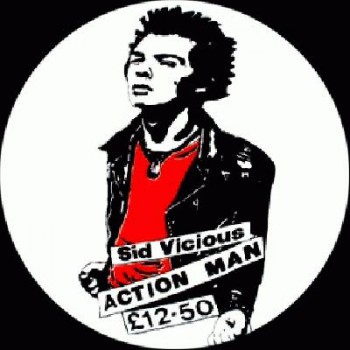 SEX PISTOLS - Sid Action Man