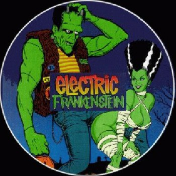 ELECTRIC FRANKENSTEIN-comic