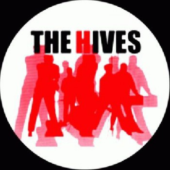 THE HIVES - Band/red