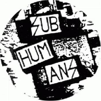 SUBHUMANS - logo b/w