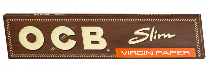 OCB UNBLEACHED SLIM VIRGIN PAPER