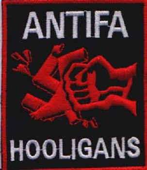 ANTIFA HOOLIGAN PATCH