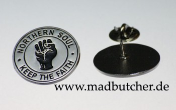 KEEP THE FAITH METALPIN