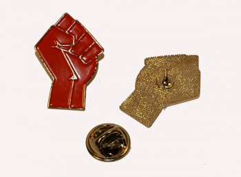 WORKERS FIST METALPIN