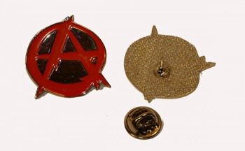 METALPIN ANARCHY RED