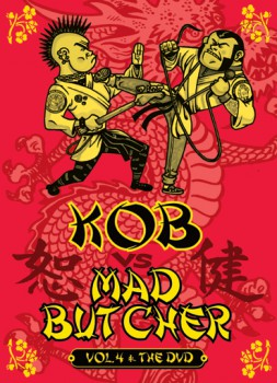 KOB VS MAD BUTCHER VOL.4 THE DVD