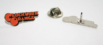CLOCKWORK ORANGE ORANGE METALPIN
