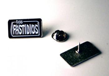 LOS FASTIDIOS LOGO/CLASSIC WHITE METALPIN