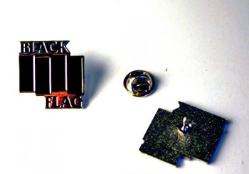 BLACK FLAG METALPIN