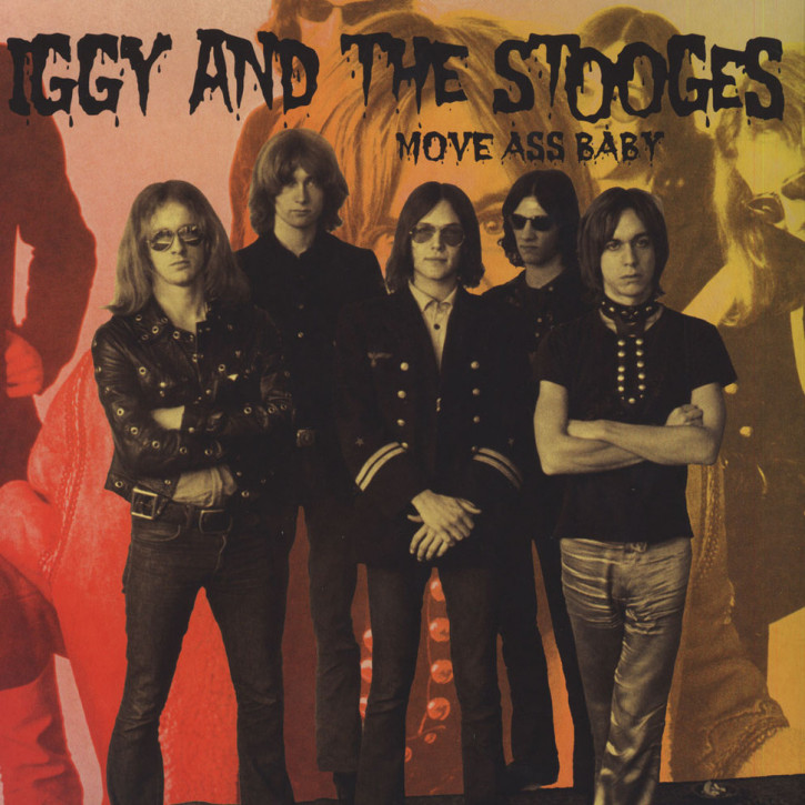 Iggy & The Stooges Move Ass Baby Double LP