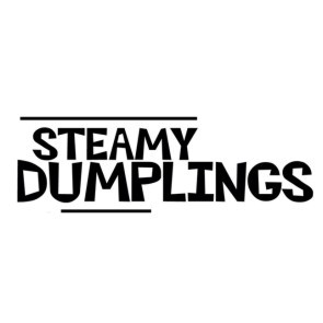STEAMY DUMPLINGS LOGO w/b