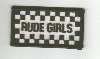 Aufnaeher \'Rude Girls - klein\'