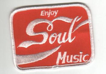 Aufnaeher \'Enjoy Soul Music\'