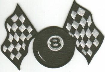 Aufnaeher \'Eightball\'