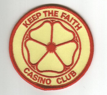 Aufnaeher \'Keep The Faith - Casino Club\'