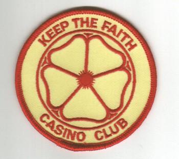 Aufnaeher \'Keep The Faith - Casino Club\'