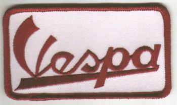 Aufnaeher \'Vespa - rot\'