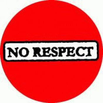 No Respect - Red Logo