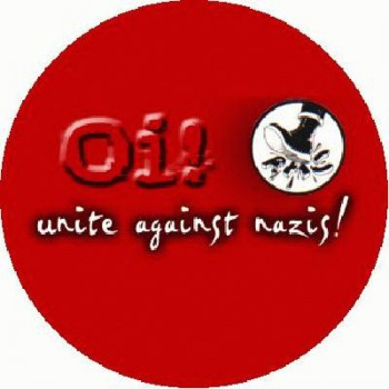 OI BUTTONS - Oi against Nazis!
