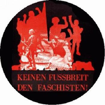 Antifa - Keinen Fussbreit den Faschisten