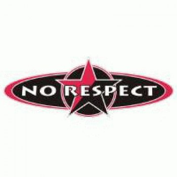 No Respect - Logo red/black