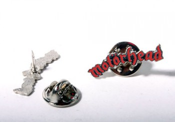 MOTÖRHEAD LOGO RED PIN