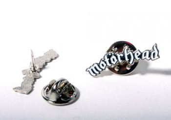 MOTÖRHEAD LOGO WHITE PIN